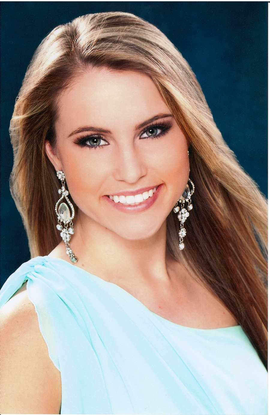 Christina Denny, 22, Miss Western MarylandSpecial Deeds for Special NeedsVocal