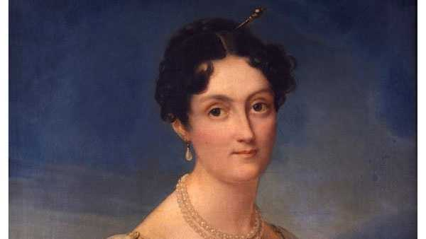 Elizabeth Patterson Bonaparte (1785-1879), François Josephe Kinsoen, circa 1817, Maryland Historical Society, Gift of Mrs. Charles Joseph Bonaparte, xx.5.72