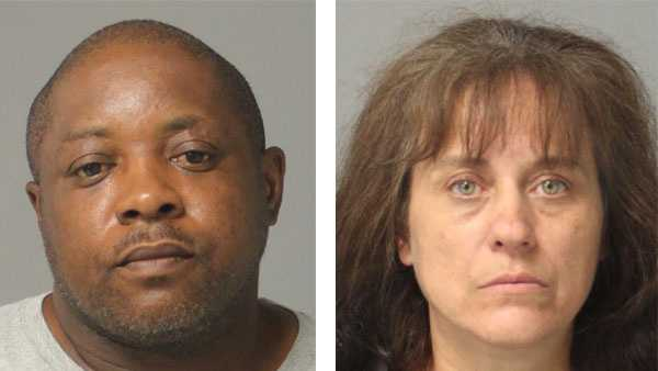 Police say Kevin Boone, 49, and Denise Dermota, 49, were arrested and face drug-related charges.