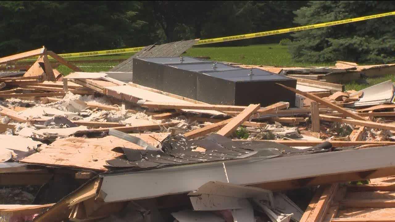 Storms bring possible tornado damage, flooding