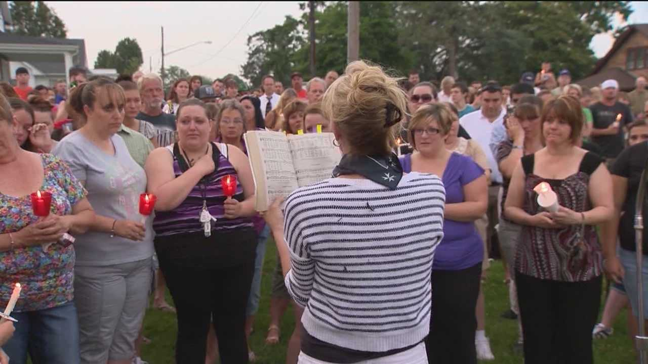 Family and friends of 10-year-old Kami Ring started the painful process of saying goodbye to her during a vigil in Cecil County on Wednesday evening.  Kai Reed has details on the event and on law enforcement's continued efforts to find her killer.