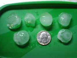 Quarter-sized hail stones in an 11 News viewer's front yard by the YMCA on Route 32 in Westminster.