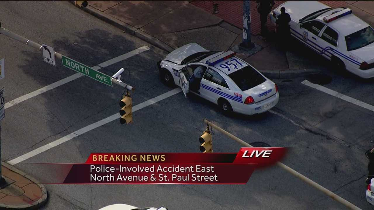 North Ave police ax