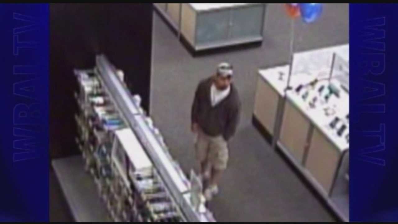 Howard County police want to talk to a man caught on surveillance camera at a Best Buy store in connection with a sex offense investigation.