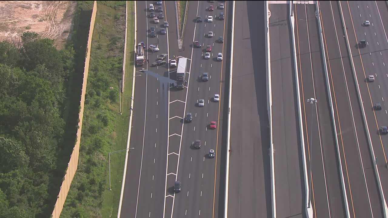 I-895 fuel spill