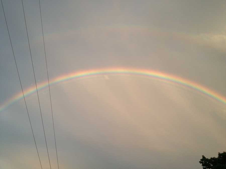 Share your weather and rainbow photos on u local!