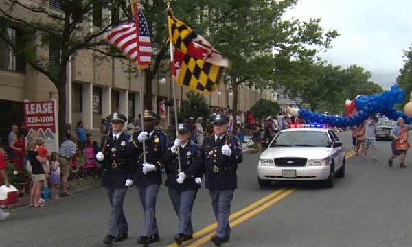 Towson Fourth of July Parade