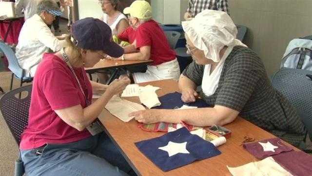 Md. Historical Society recreates Star-Spangled Banner Flag
