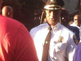 Baltimore Police Commissioner Anthony Batts