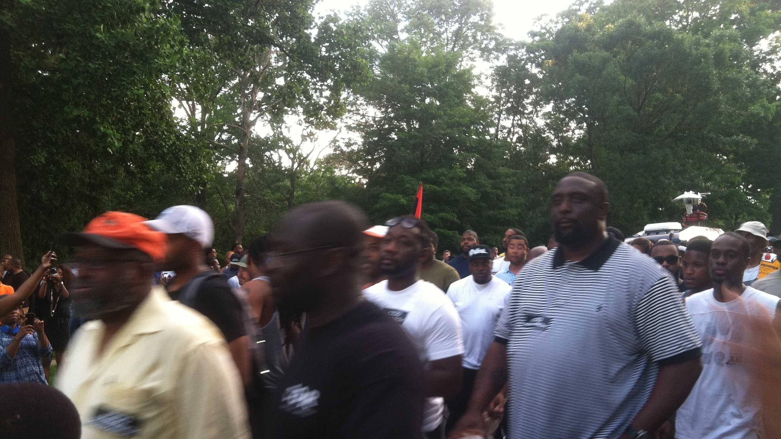 300 Man March Baltimore