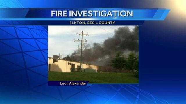 Elkton fire