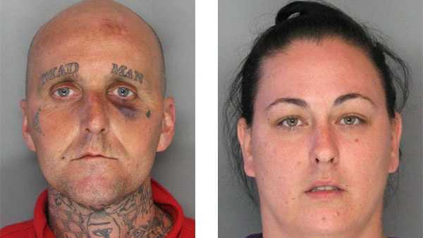 Police say Michael Singer and his wife Shelbie Mech were charged in connection with a fatal stabbing at a Halethorpe bar.