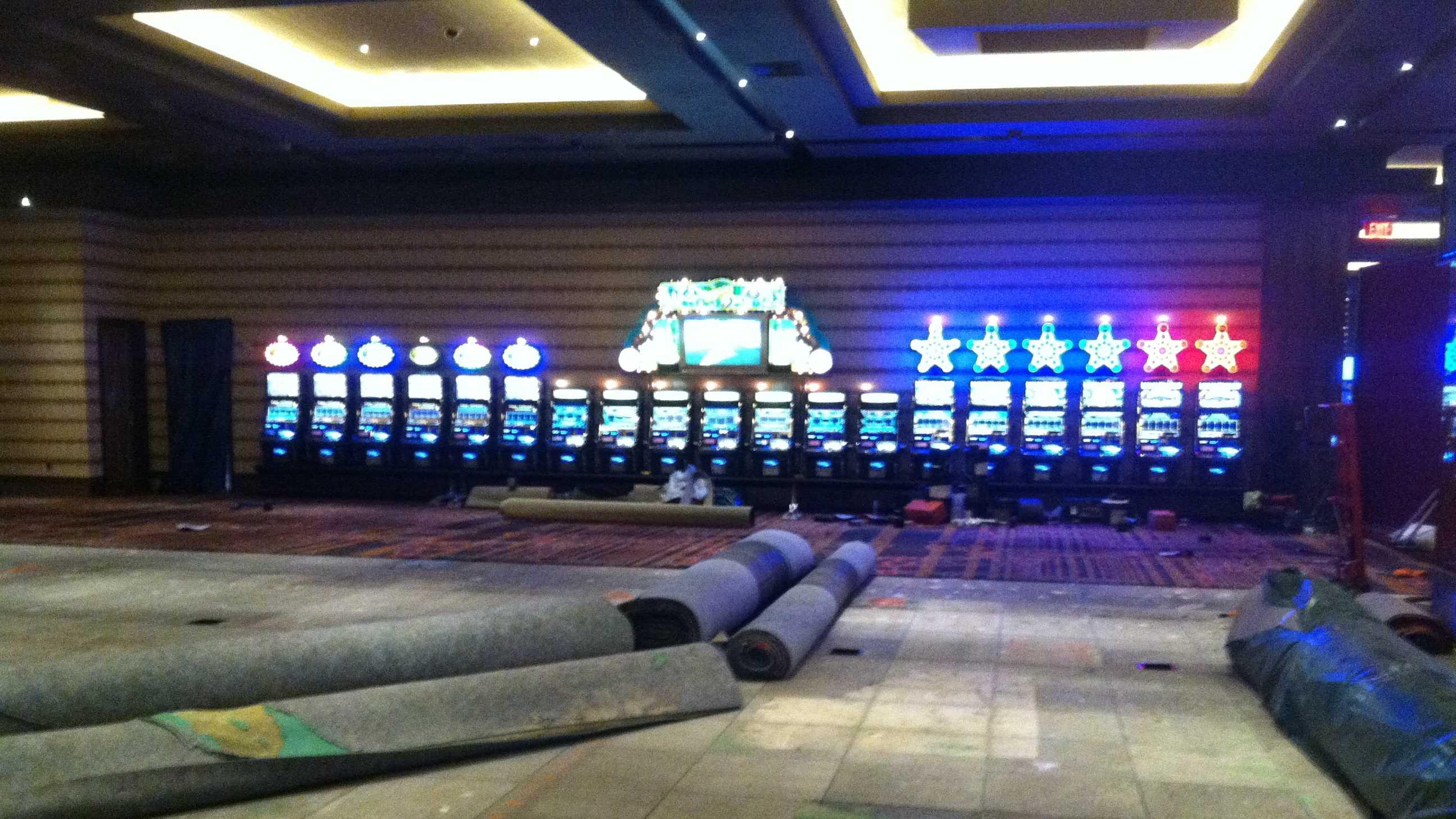 Maryland Live Casino poker room construction