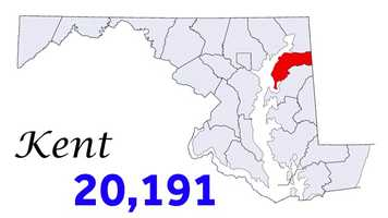 The following are slides showing the most populous Maryland counties according to the 2012 Census estimates.