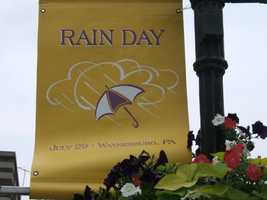 Rain Day Festival -- July 29, Waynesburg, Pa. -- Dating back to 1874 when a local farmer claimed it always rained on his birthday, folks have gathered in Waynesburg on that day every year to wish for a washout. Since then, this day has developed quite a following and has even received bets from the likes of Muhammad Ali, Fred Rogers and Jay Leno. Now in its 139th year, travelers can enjoy big fun in this small Greene County town. Rain Day attractions include live entertainment, dozens of craft and food vendors, games for children, and a series of competitions including a sponge bucket relay and an umbrella decorating contest. General admission is free of charge.