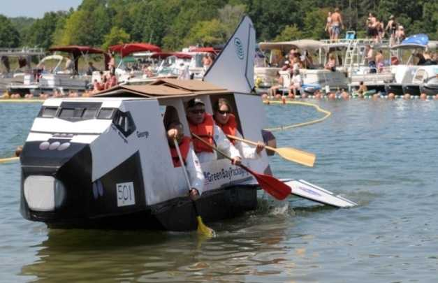 """World Championship Cardboard Boat Races -- July 27, Heber Springs, Ark. -- Since 1987, buoyant builders have gathered on the shores of Sandy Beach to try their best to stay afloat. Using corrugated cardboard, individuals and teams launch their vessels into the 200-meter course, all vying for the coveted """"Pride of the Fleet,"""" given to the greatest engineering marvel, or the """"Captain's Award,"""" presented to the most creative. Even sinkers have a chance to take home a prize as the """"Titanic"""" award goes to the boat with the most dramatic downfall. Onshore onlookers can partake in several events including a tug-of-war and watermelon eating competition. General admission is free of charge.See also: 30 Activities to do this summer"""