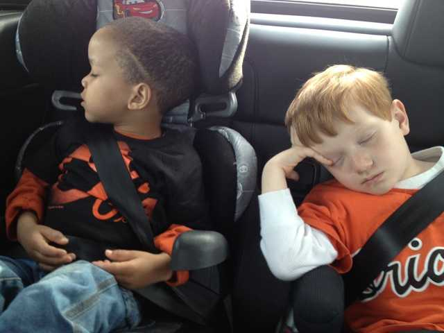 Long day after an O's game in Owings Mills