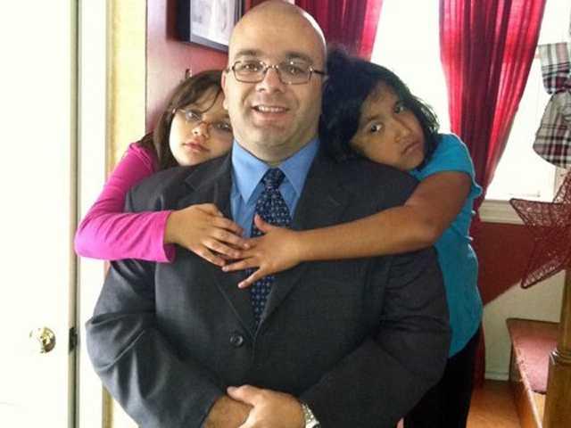 Rick Enos and family inArbutus