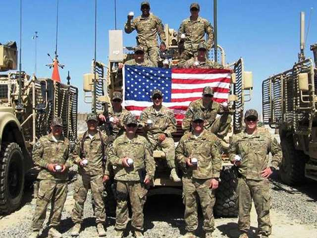 Cal Ripken Jr. honors 1st Lieutenant Chris Frederick and his fellow soldiers serving in Afghanistan