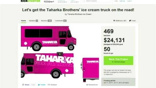 Taharka Kickstarter campaign
