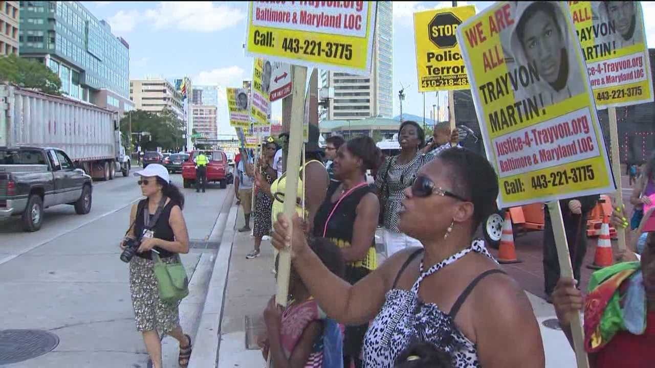 Ralliers call for end to racial profiling after Zimmerman verdict