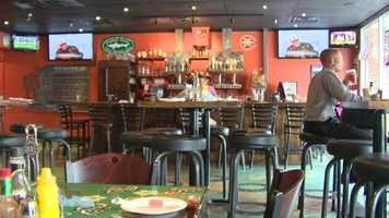 The restaurant is best known for its brick oven pizza and daily specials.