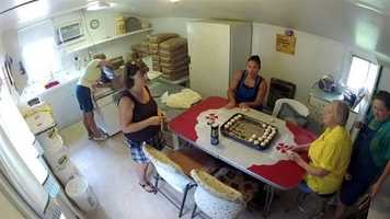 Orrell's is the only commercial beaten biscuit bakery left in the United States. People can take free tours of the bakery in Wye Mills on Wednesdays from 9 a.m. to 4 p.m.