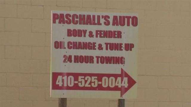 Paschall's Auto Body and Fender shop