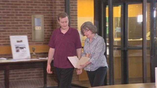 Jan Irvine and her son, Joseph, search for records for Jan's long lost half-brother.