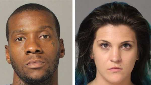 Michael Leroy Harvin, 31 (left) and Tiffany Rose Koltko, 23 (right).
