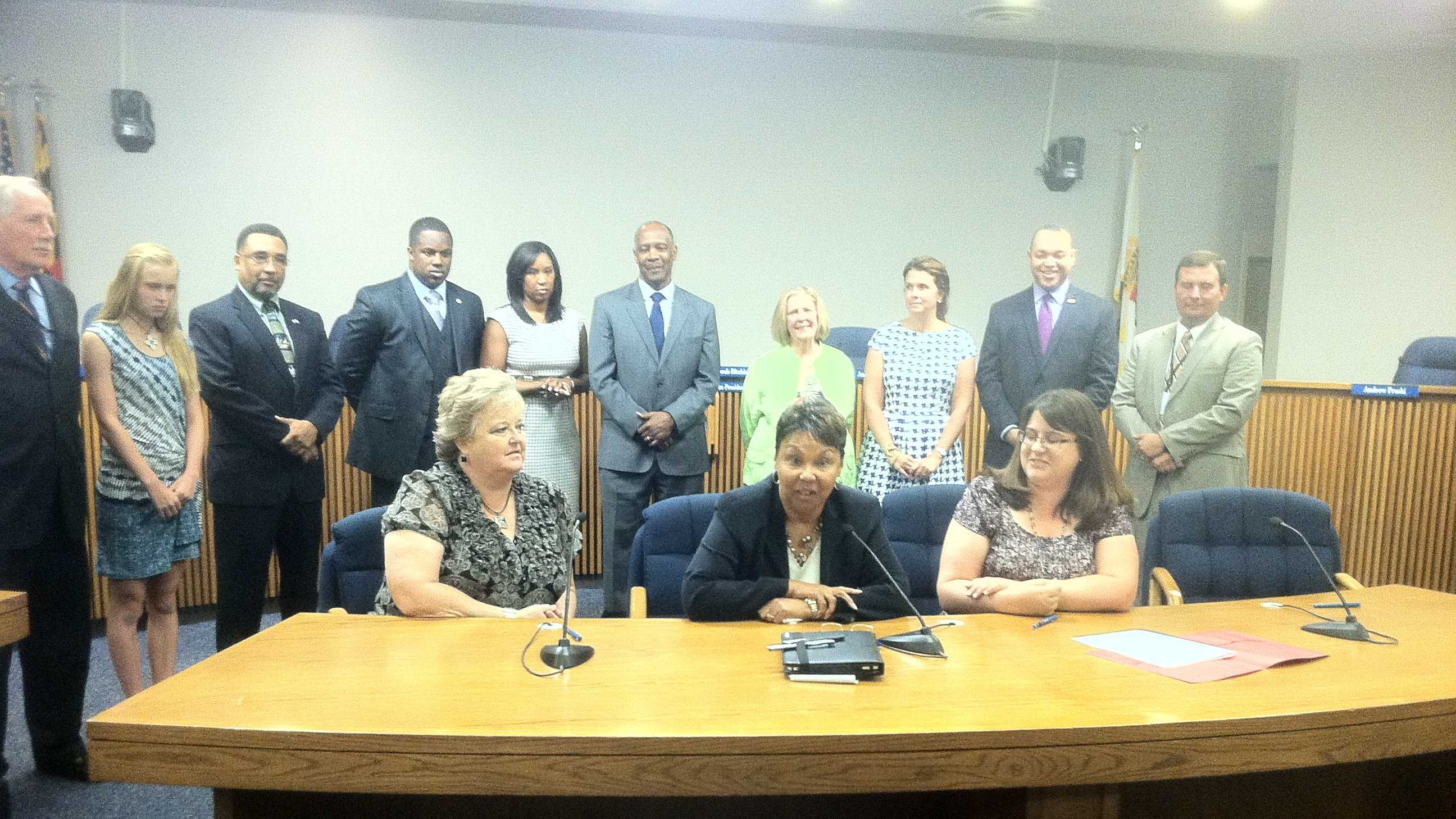 Mamie Perkins approved to serve as acting superintendent.