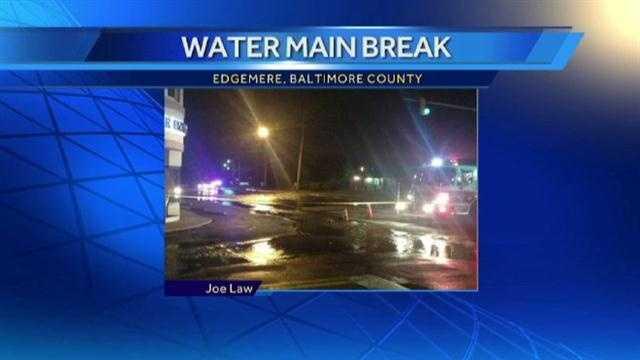 water main breaks map