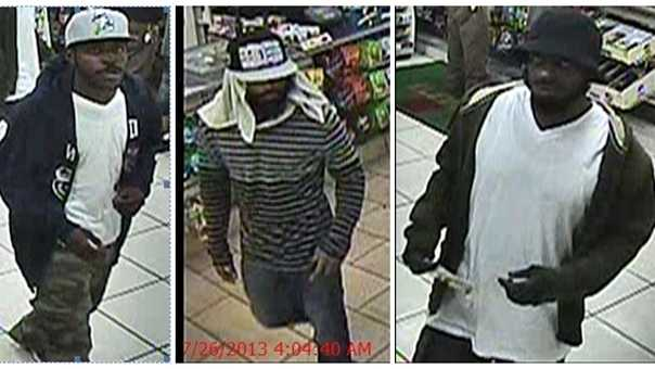 convenience store armed robbery suspects