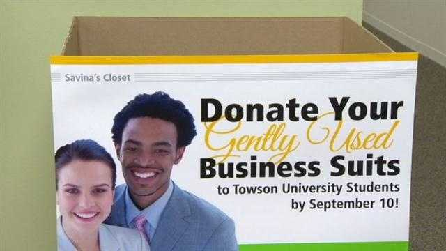 An important part of scoring a great job is looking professional on the interview. Some Towson University students need the public's help to do that.