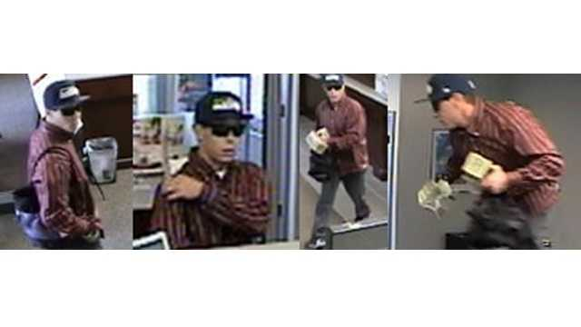 Police say this man robbed a BB&T Bank on Baldwin Mill Road.