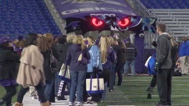 Ravens ladies night pkg 2013