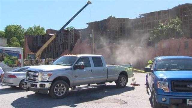 Cockeysville distillery demolition