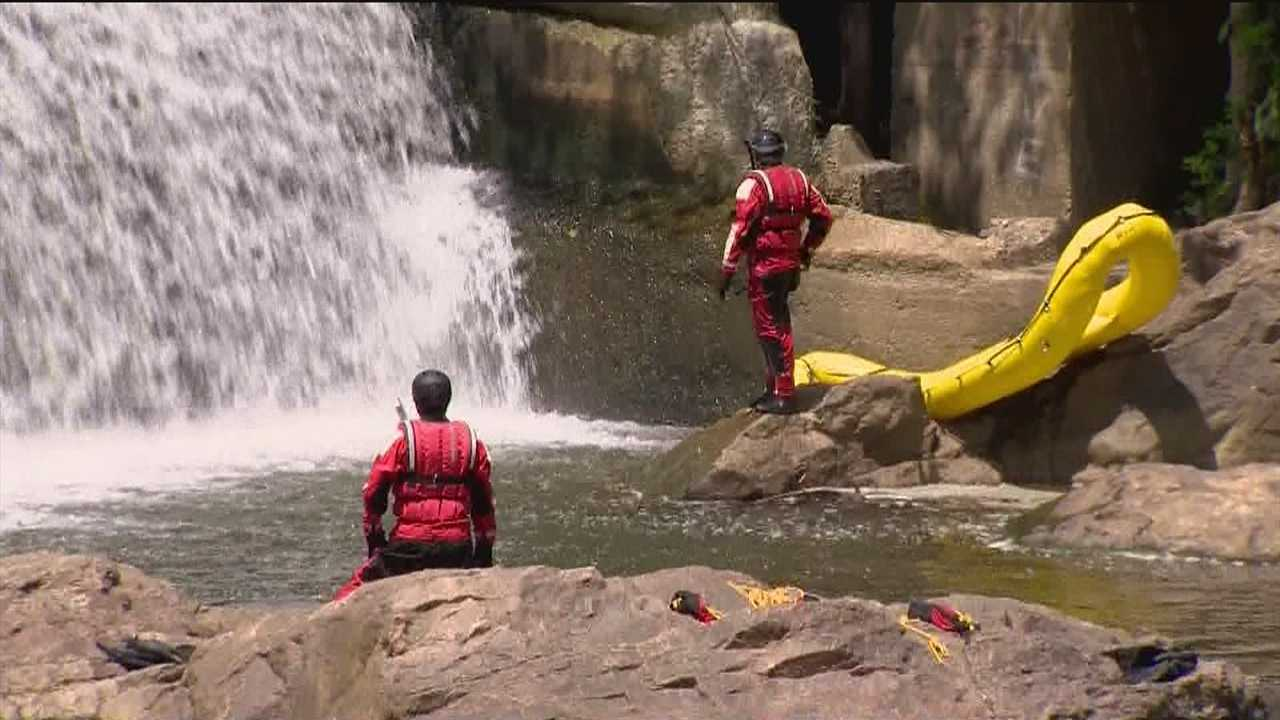 Emergency crews in Howard County say they've found the body of a missing swimmer who vanished near the Bloede Dam, in Patapsco State Park.