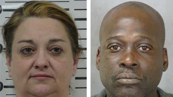 Karen Steelman (left), Kenneth Harris (right)