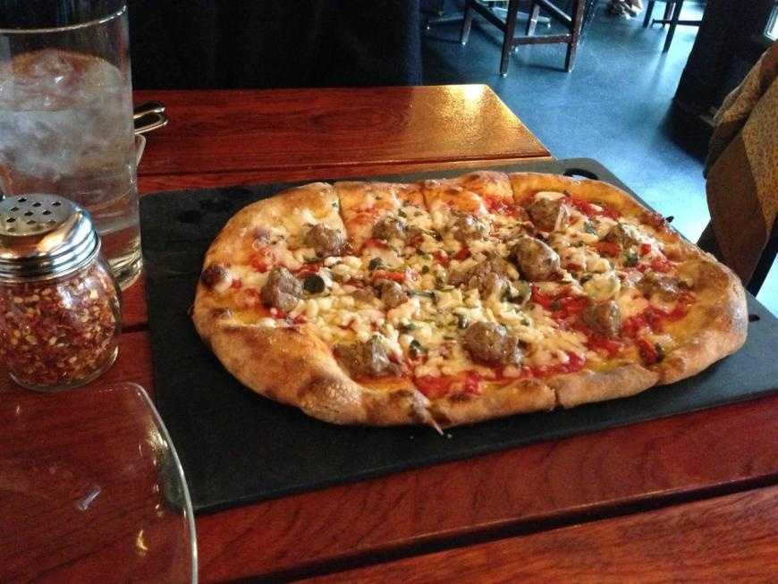 "A TripAdvisor traveler commented, ""Excellent pizza, high quality ingredients."""