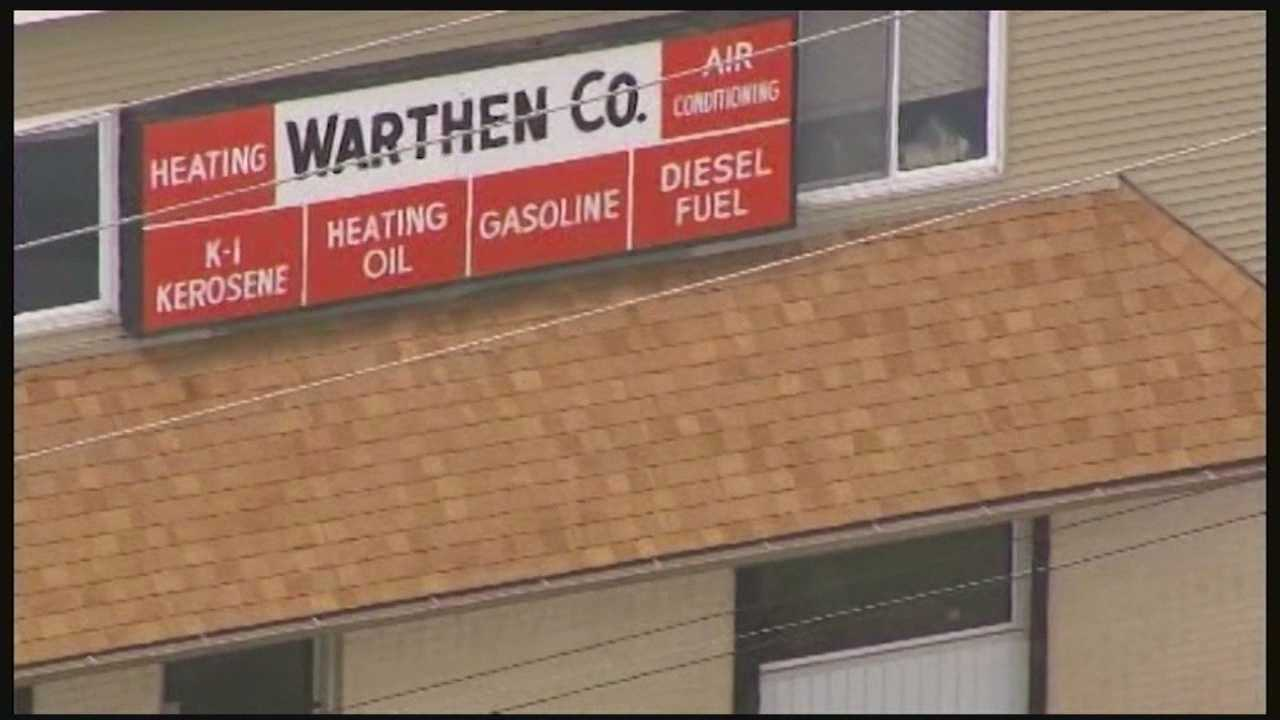 Baltimore County police are investigating the theft of more than $20,000 worth of diesel fuel.