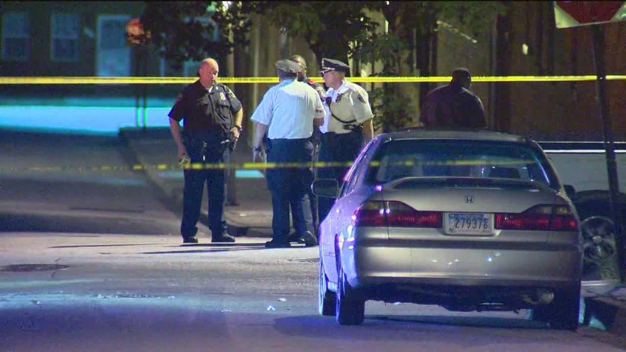City police are investigating two triple shootings that injured several people, including a child.