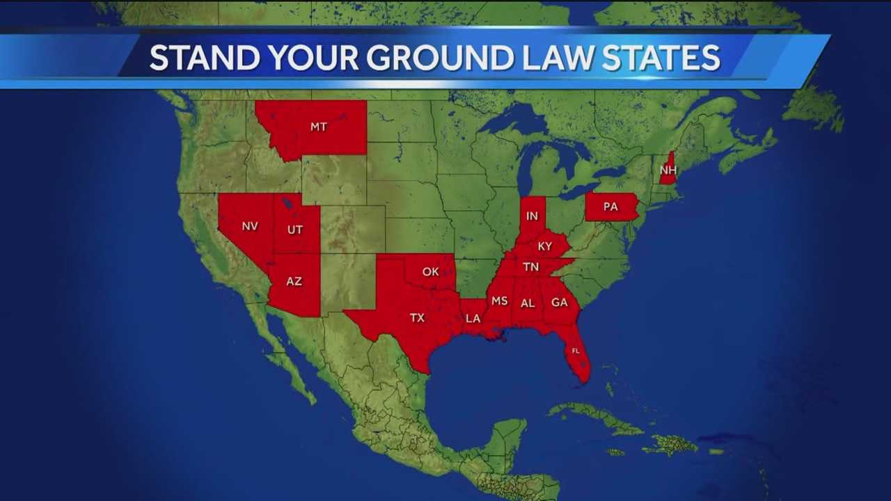 "A local lawmaker wants Maryland to enact a ""stand your ground"" law similar to those in 16 other states."