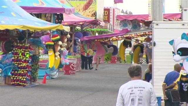 The Maryland State Fair kicks off Friday in Timonium.