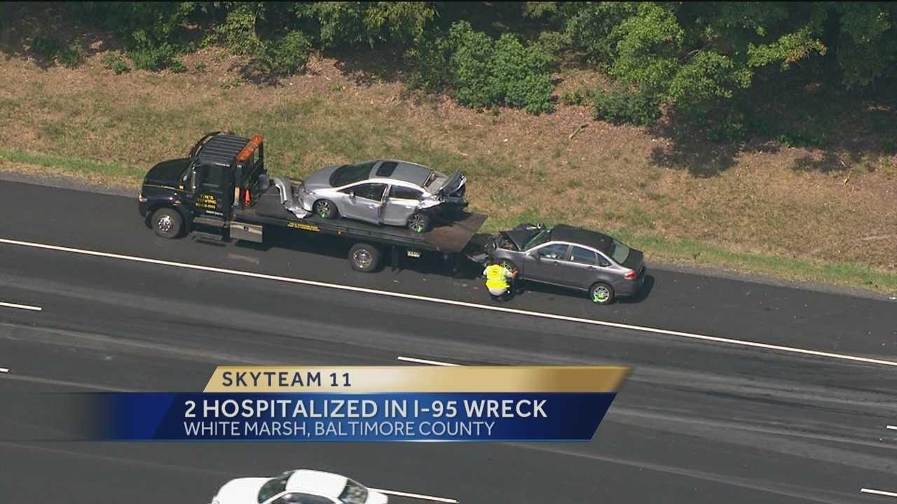 I-95 White Marsh crash photo