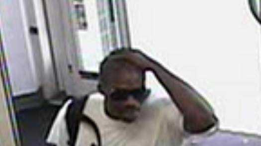 Soap robbery surveillance photo