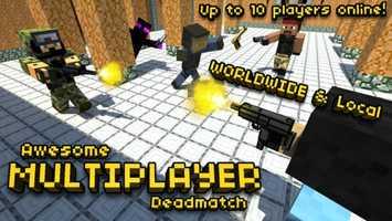 Pixel Gun 3D - Block World Pocket Survival Shooter with Skins Maker for minecraft ranks fifth