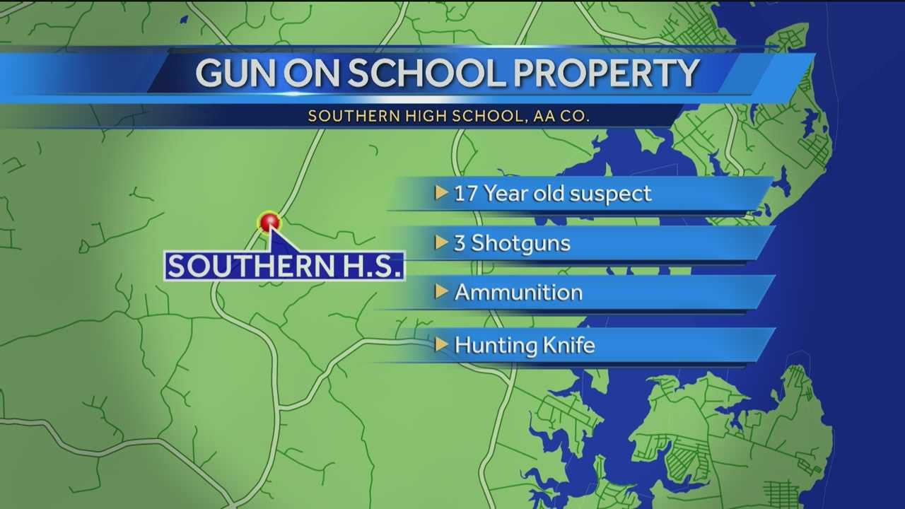 student brings guns to school