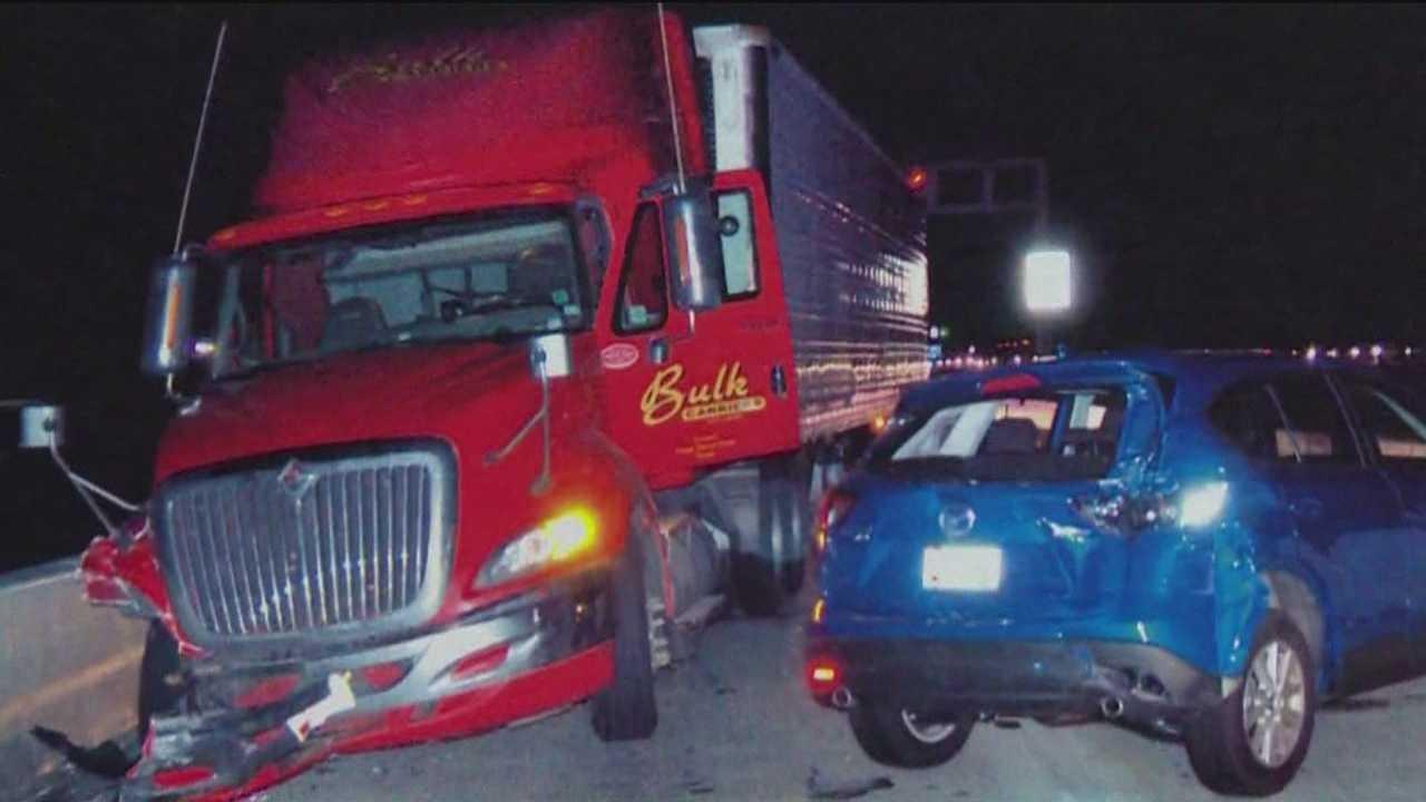 MdTA: Distracted driving led to Bay Bridge crash