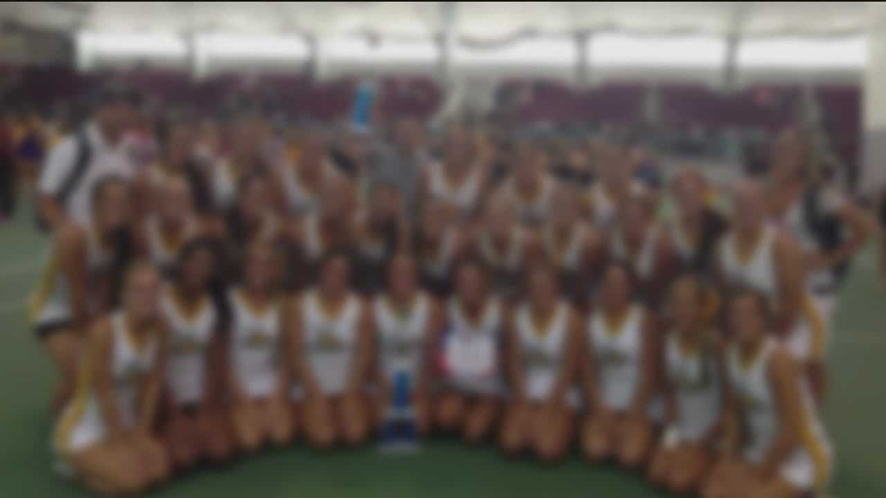 Towson Univ. national champ cheerleaders suspended